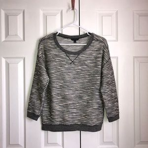 American Eagle Outfitters Gray Long Sleeve Sweater